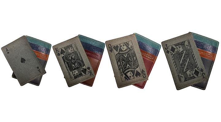 トランプ柄のカードケース