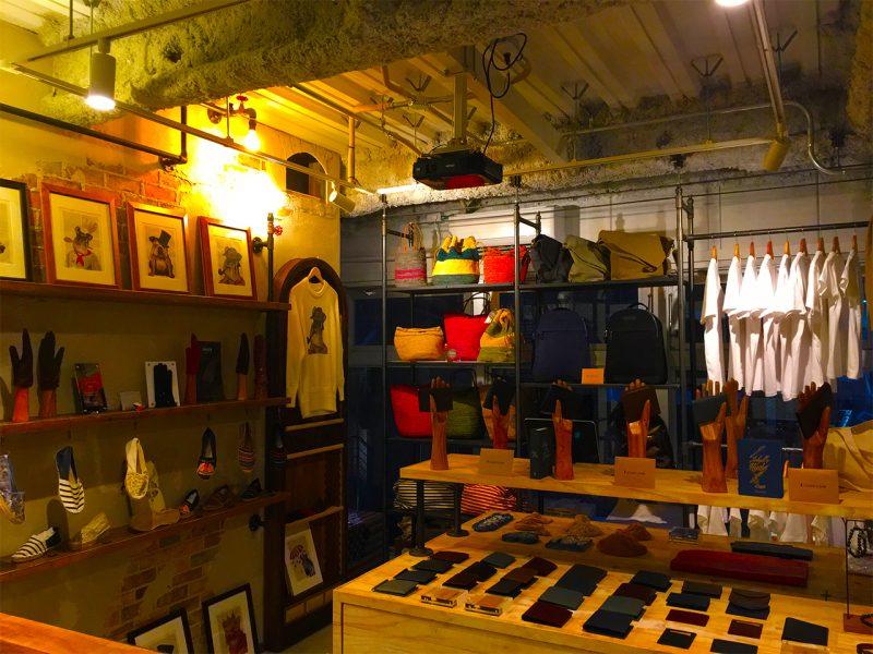 代官山ショップ店内の写真